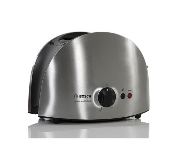 Buy Bosch Tat6901gb 2 Slice Toaster Stainless Steel
