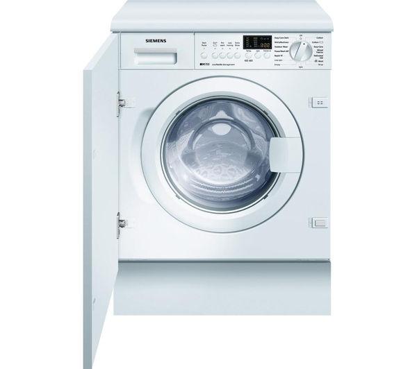 Image of Siemens WI14S441GB Integrated Washing Machine - White, White