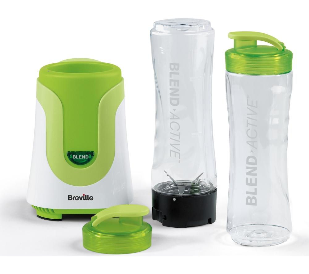 Currys Small Kitchen Appliances Buy Breville Vbl062 Blend Active Blender Green Free Delivery