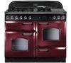 RANGEMASTER Classic 110 LPG Gas Range Cooker - Cranberry & Chrome