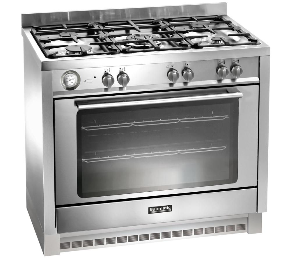 BAUMATIC  BCG905SS Gas Range Cooker  Stainless Steel Stainless Steel