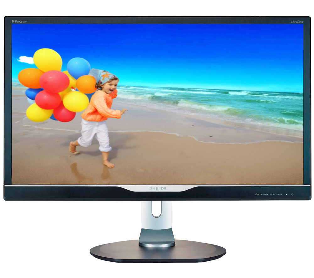 "Good Old Smartphones Dell 28 Ultra Hd 4k Monitor P2815q Ultra Hd Tv Features Tv Uhd 4k Olx: Buy PHILIPS 288P6LJEB 4K Ultra HD 28"" LED Monitor With MHL"
