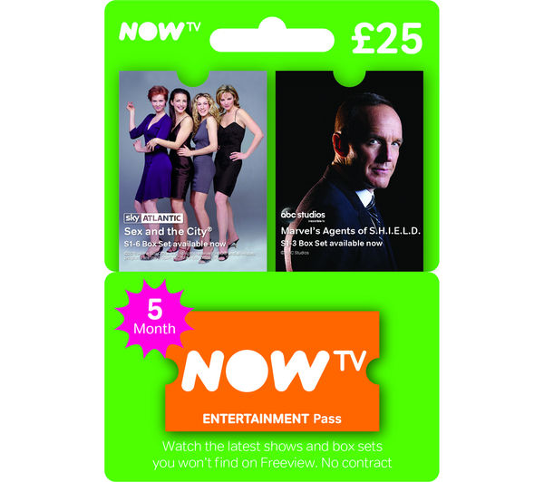 Image of NOW TV Entertainment Pass - 5 Month