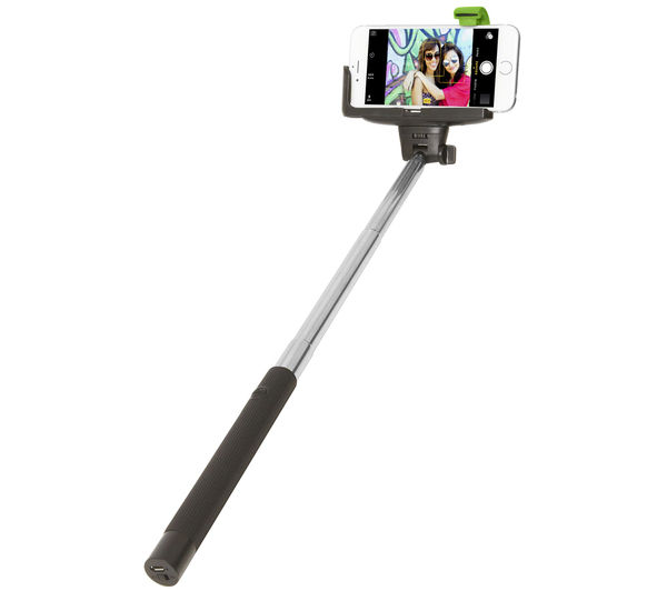 retrak euselfieb bluetooth selfie stick deals pc world. Black Bedroom Furniture Sets. Home Design Ideas