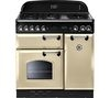 RANGEMASTER Classic 90 Dual Fuel Range Cooker - Cream & Chrome
