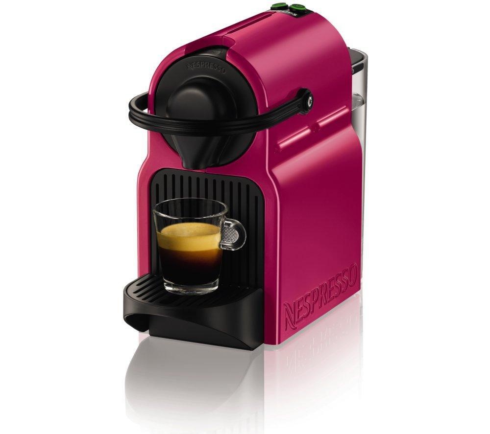 krups nespresso inissia xn100740 coffee machine fuchsia. Black Bedroom Furniture Sets. Home Design Ideas