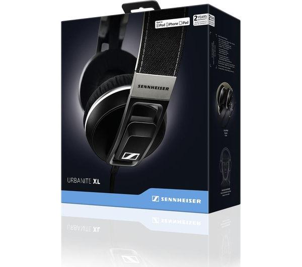 Buy Sennheiser Urbanite Xl Headphones Black Free