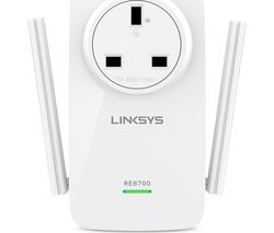 LINKSYS Amplify RE6700-UK WiFi Range Extender - AC1200, Dual Band
