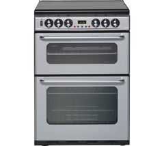 NEW WORLD DF600TSIDOm 60 cm Dual Fuel Cooker - Silver