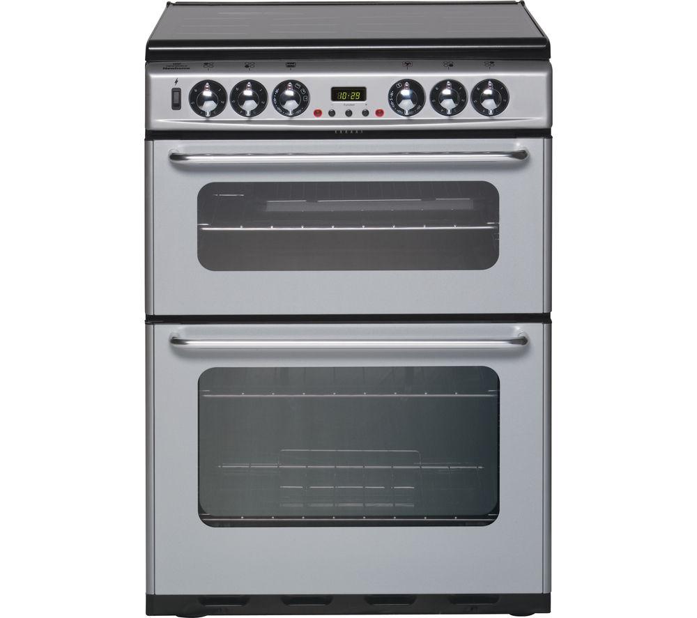 buy new world df600tsidom 60 cm dual fuel cooker silver. Black Bedroom Furniture Sets. Home Design Ideas