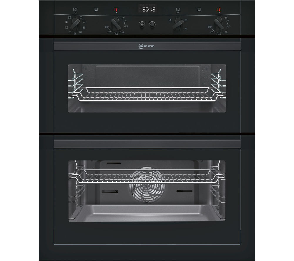 Oven Liners For Electric Ovens ~ Buy neff u m s gb electric built under double oven
