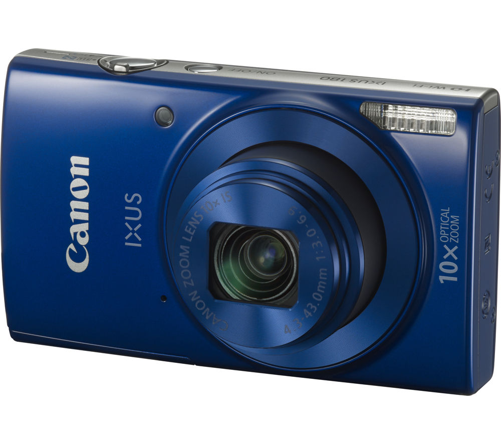 CANON IXUS 180 Compact Camera - Blue