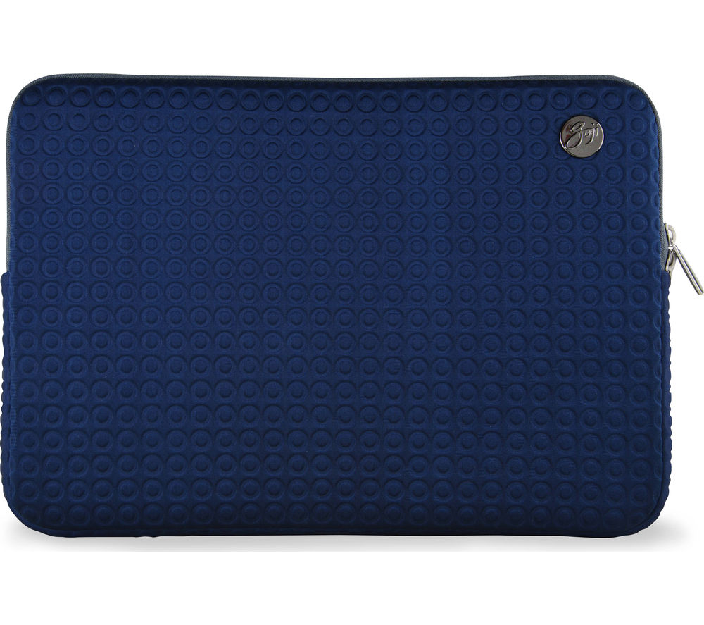 "Goji GSMBL1516 15"" MacBook Pro Laptop Sleeve - Navy & Grey, Navy"