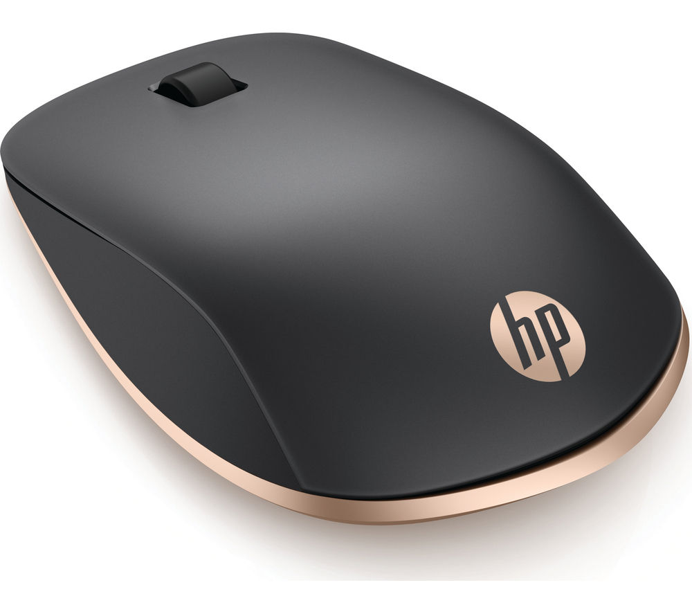 HP Z5000 Wireless Optical Mouse - Ash Silver & Copper