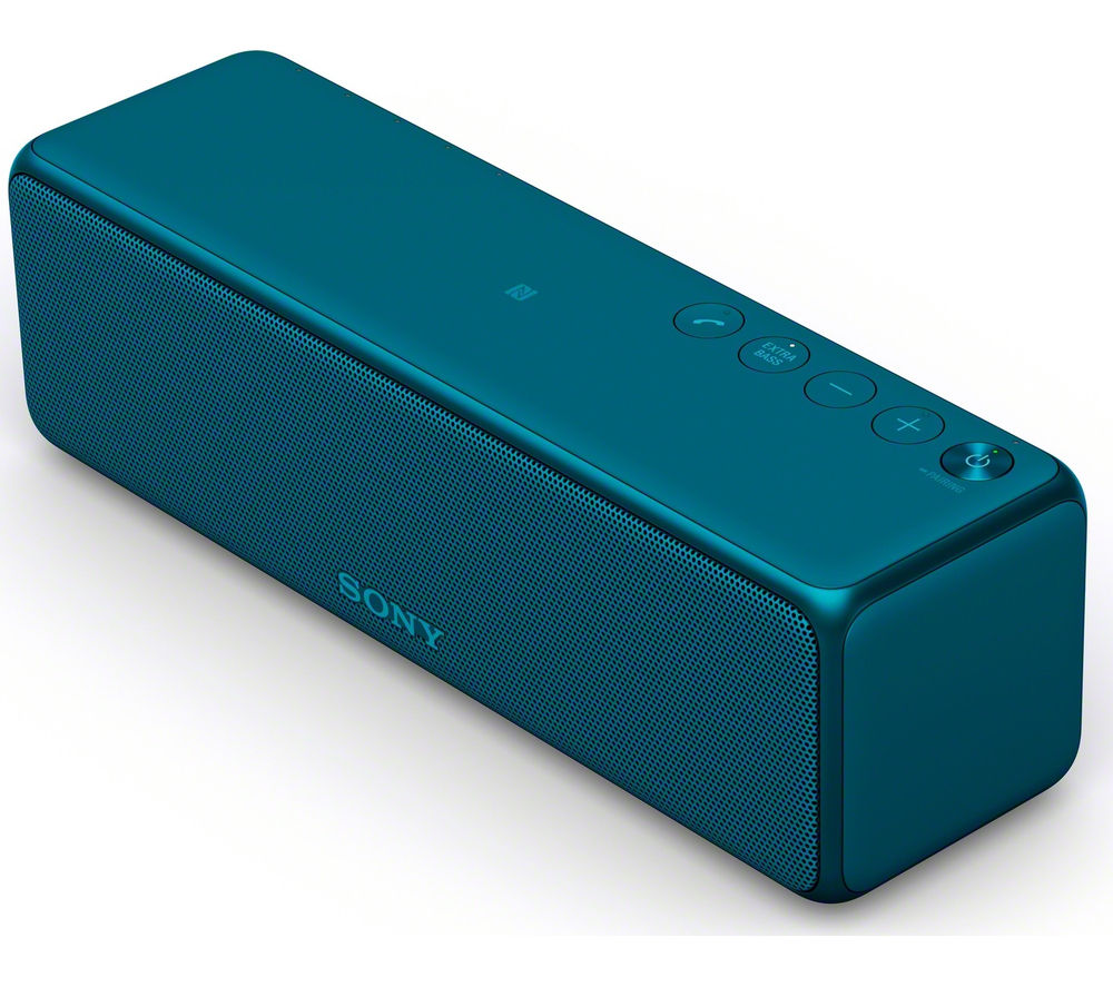Click to view more of SONY  h.ear go SRS-HG1L Portable Wireless Smart Sound Multi-Room Speaker - Blue, Blue