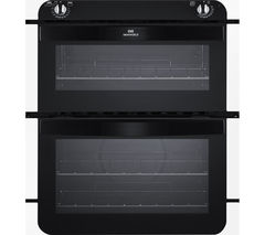 NEW WLD NW701DO Electric Built-under Double Oven - White & Black