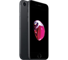 APPLE iPhone 7 - Black, 128 GB