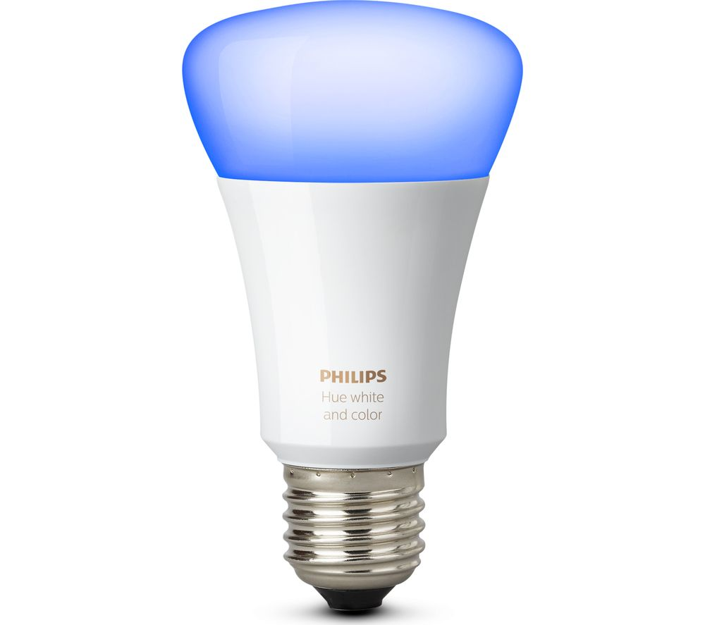 buy philips hue colour wireless bulb e27 free delivery currys. Black Bedroom Furniture Sets. Home Design Ideas
