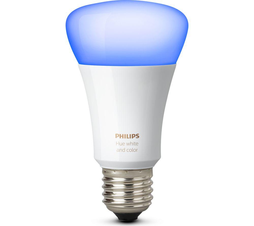 Image of PHILIPS Hue Colour Wireless Bulb - E27