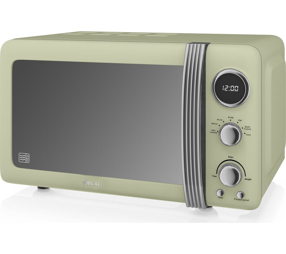 SWAN Retro SM22030GN Solo Microwave Review