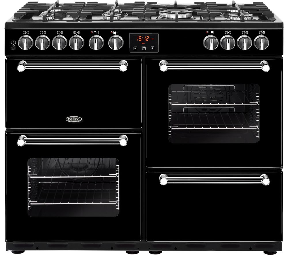 belling kensington 100dft dual fuel range cooker review. Black Bedroom Furniture Sets. Home Design Ideas