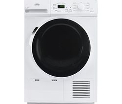 BELLING BEL FHD800 Heat Pump Tumble Dryer - White
