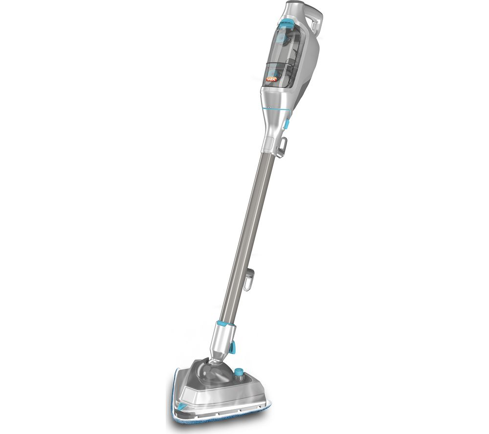 VAX Steam Fresh Power Plus S84W7P Steam Mop  Silver & Blue Silver