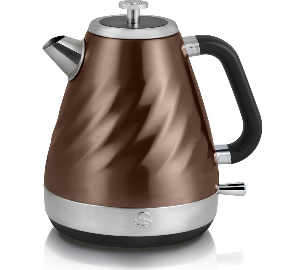 Currys Small Kitchen Appliances Buy Swan Twist Jug Kettle Copper Free Delivery Currys