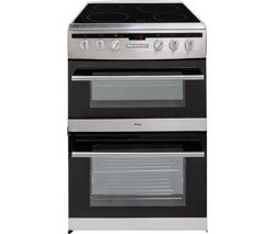 AMICA 608DCE2Ta(Xx) Electric Ceramic Cooker - Stainless Steel