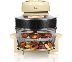 SWAN Halogen SF31020CN Oven & Air Fryer - Cream