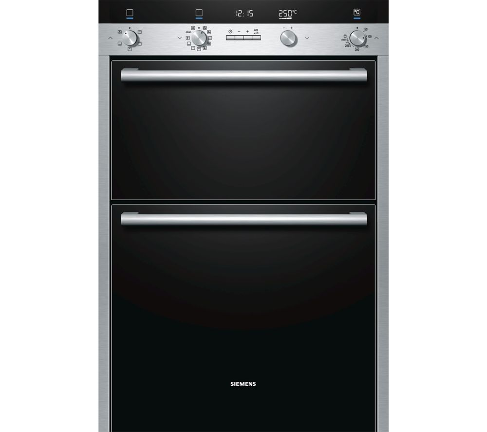 SIEMENS HB55MB551B Electric Double Oven - Stainless Steel