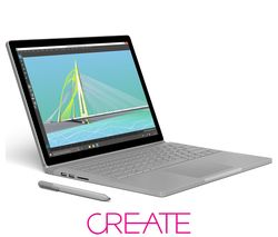 MICROSOFT Surface Book with Performance Base - Silver