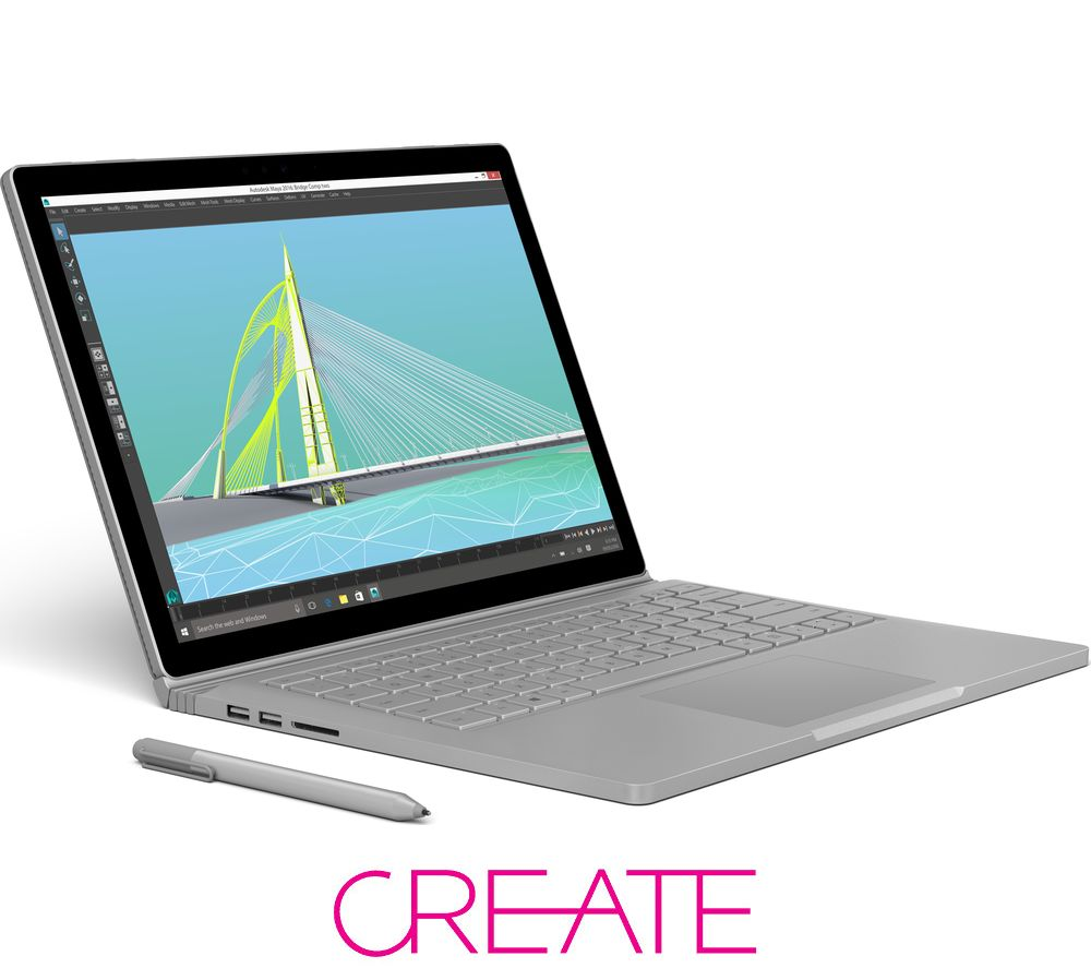 MICROSOFT Surface Book with Performance Base - Silver, Silver
