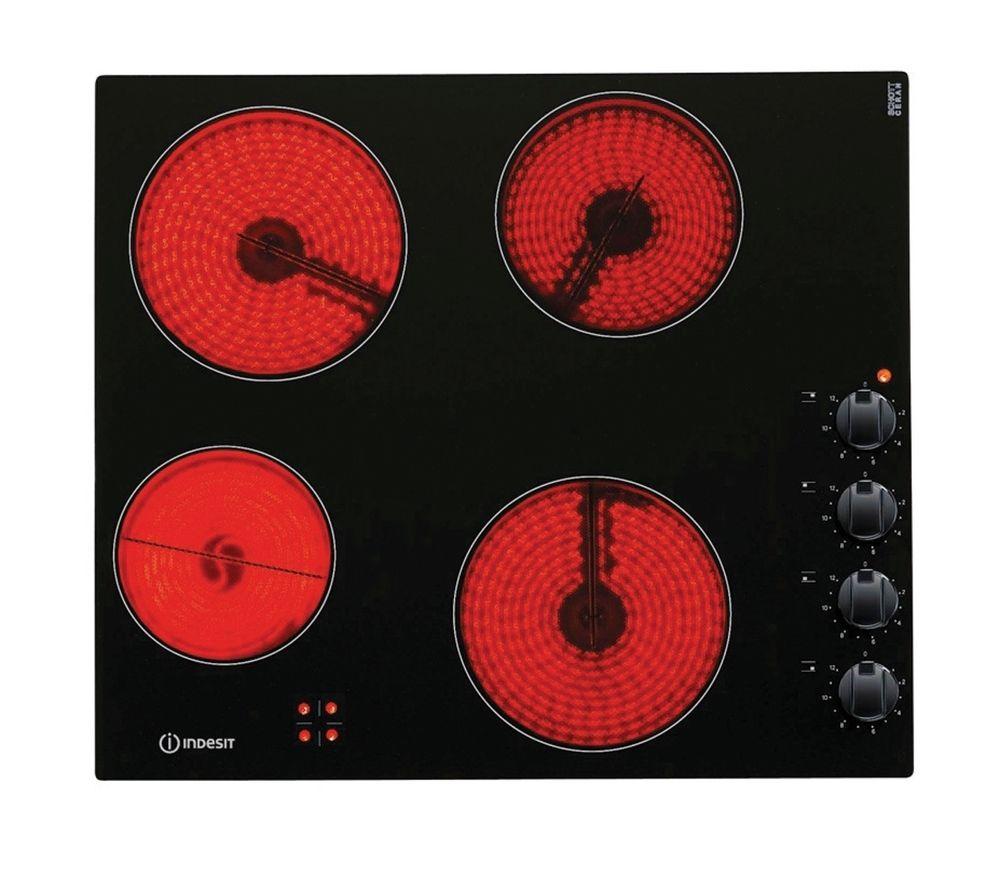 INDESIT VRM640MC Ceramic Hob - Black