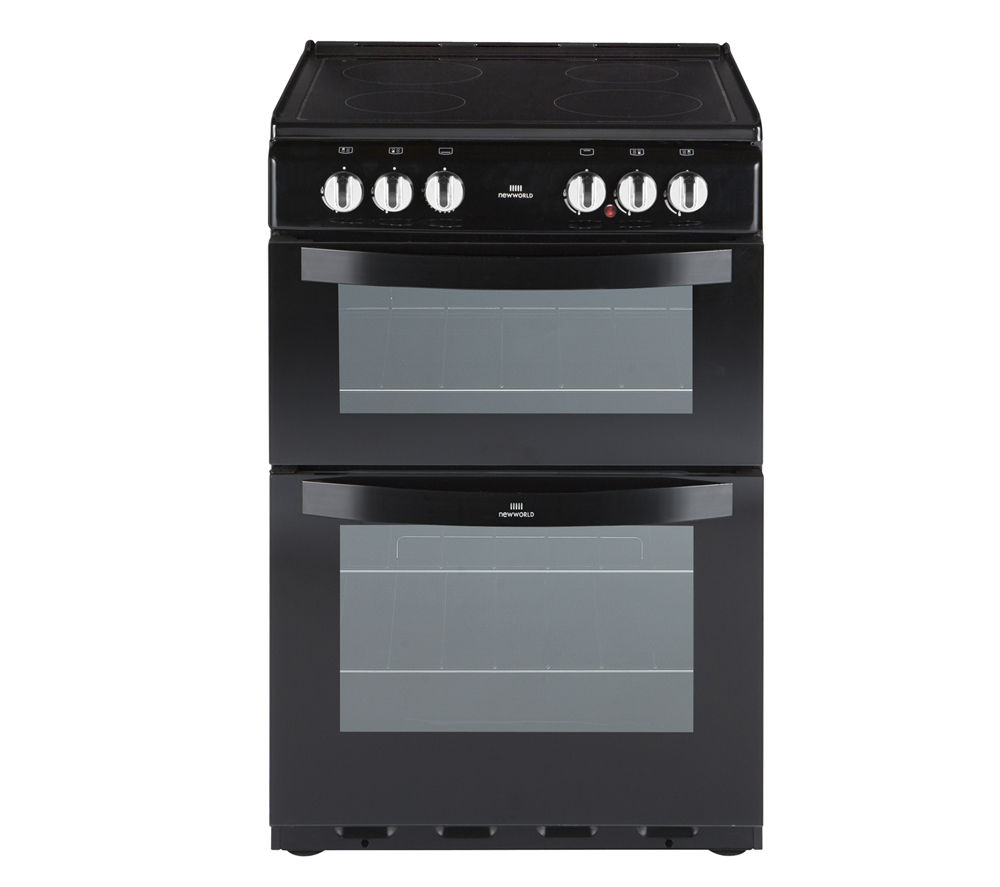 NEW WORLD 551ETC Electric Ceramic Cooker - Black