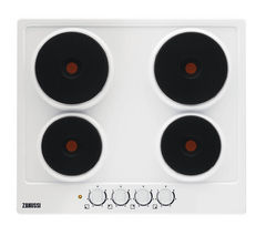 ZANUSSI ZEE6940FWA Electric Hob - White
