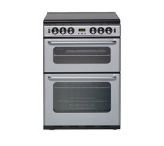 NEW WORLD 600TSIDOM Gas Cooker - Silver