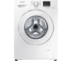SAMSUNG ecobubble WF70F5E2W4W Washing Machine - White