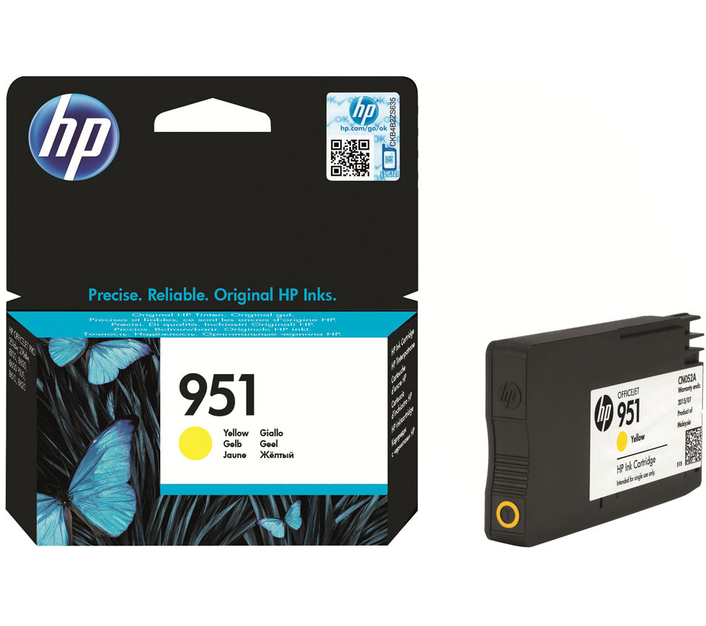 HP 951 Yellow Ink Cartridge