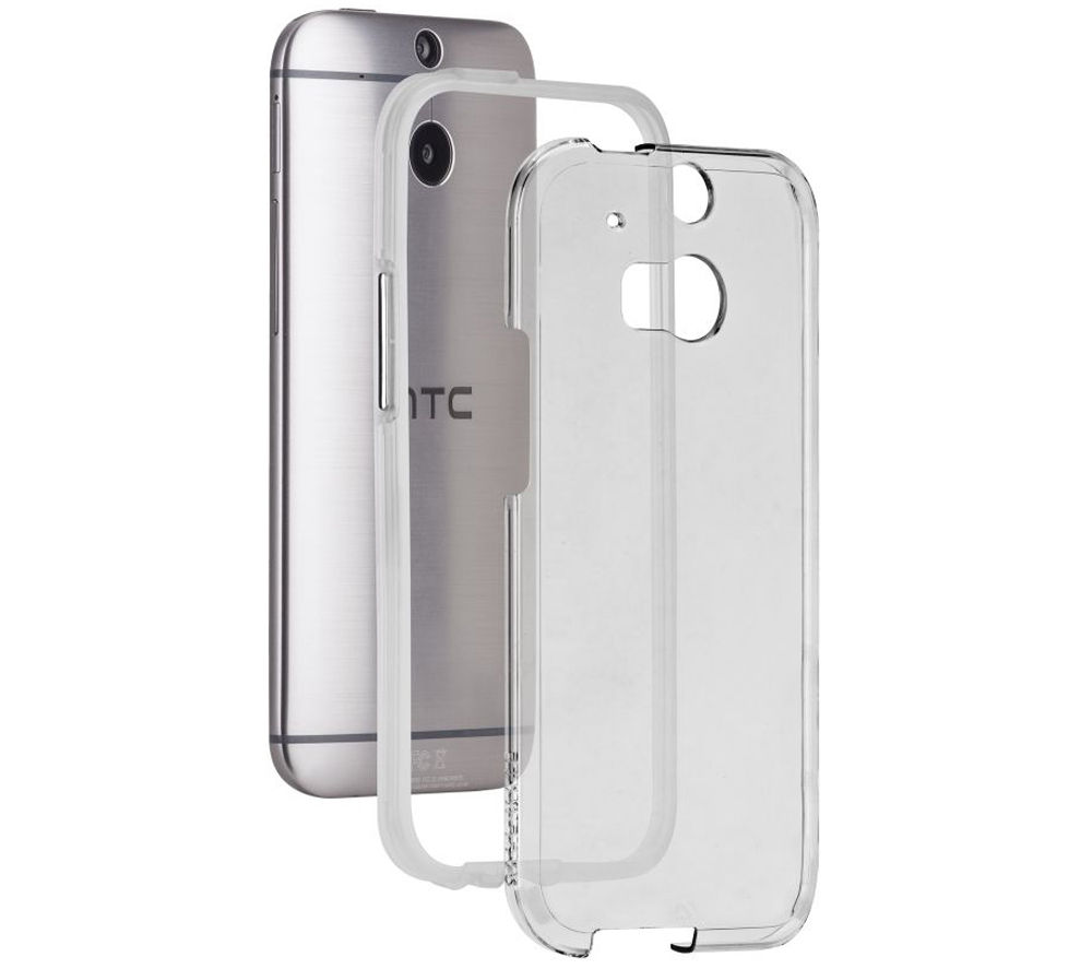Image of CASE-MATE CM030777 Tough Naked HTC One Case - Clear