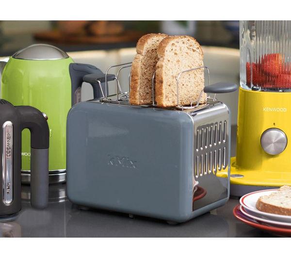 buy kenwood kmix ttm020gy 2 slice toaster grey free delivery currys. Black Bedroom Furniture Sets. Home Design Ideas
