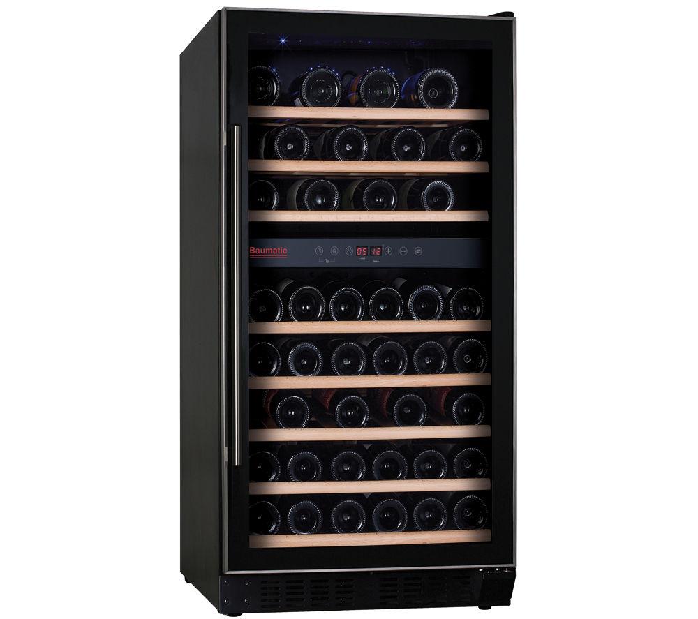 BAUMATIC BWC1215SS Built-in Wine Cooler