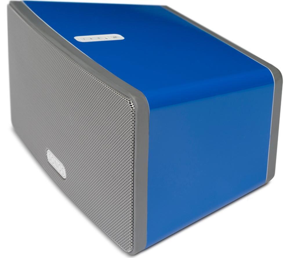 FLEXSON P3CP1051 SONOS PLAY:3 ColourPlay Skin - Cobalt Blue Gloss