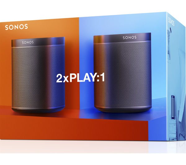 Buy Sonos Play 1 Wireless Multi Room Speaker Bundle