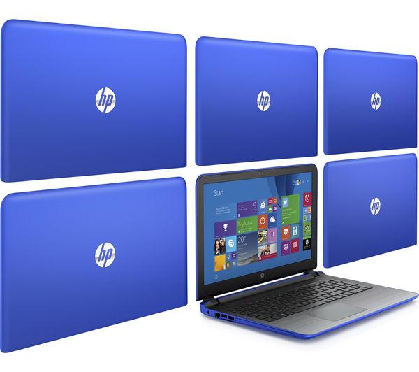 "Image of HP Pavilion 15-ab271sa 15.6"" Laptop - Blue"