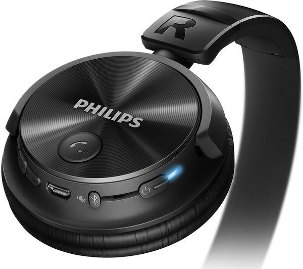 philips shb3060bk wireless bluetooth headphones black deals pc world. Black Bedroom Furniture Sets. Home Design Ideas
