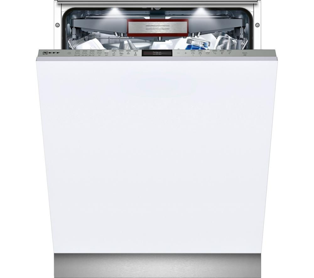 NEFF S517P70Y0G Full-size Integrated Dishwasher
