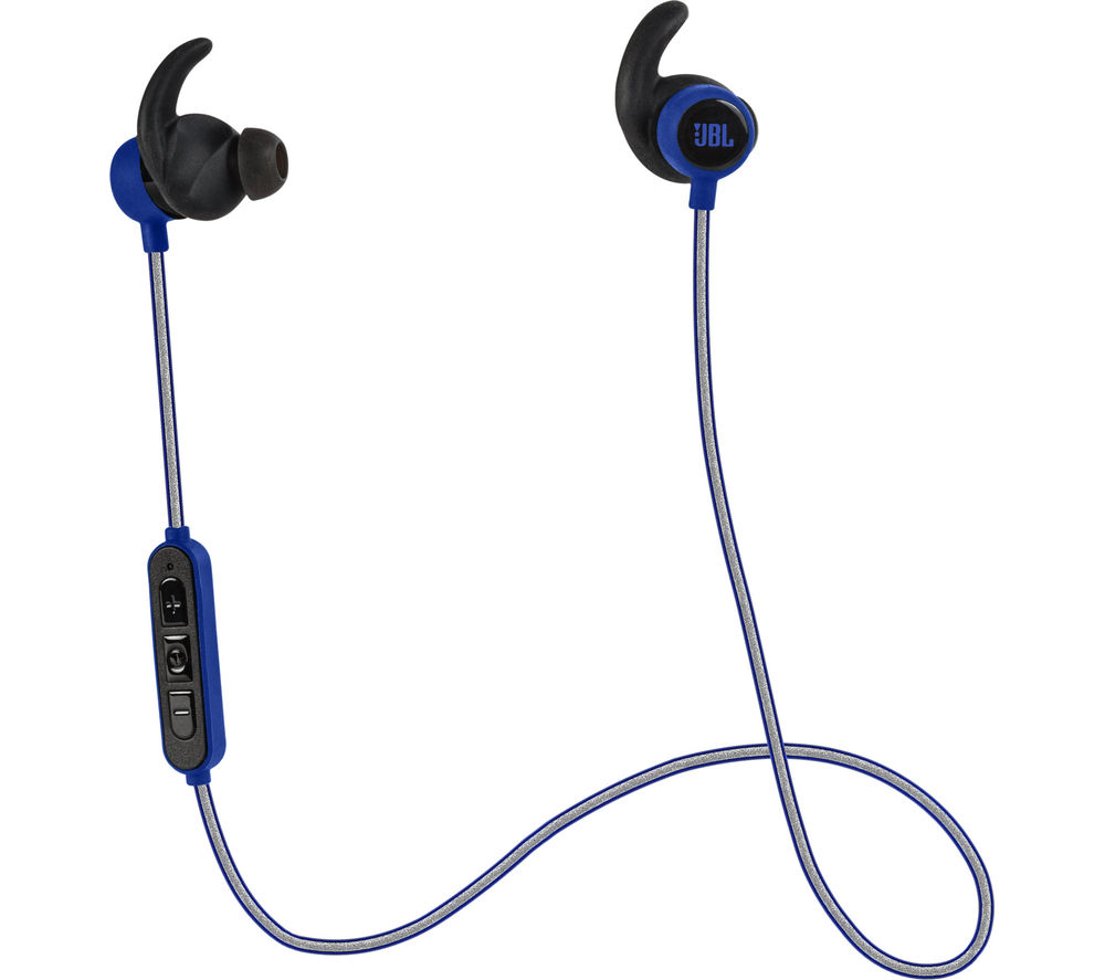 jbl reflect mini bt wireless bluetooth headphones blue deals pc world. Black Bedroom Furniture Sets. Home Design Ideas