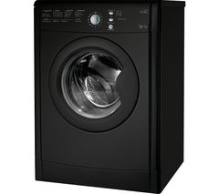 INDESIT EcoTime IDVL75BRK Vented Tumble Dryer - Black