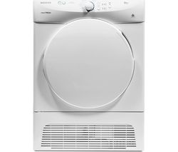 HOOVER VTCC580B Condenser Tumble Dryer - White